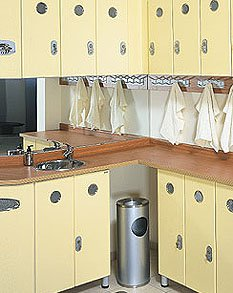 Cocinas pequeñas en espacios reducidos - Cocina pequeña y simple