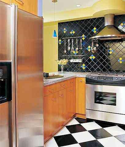 Cocinas pequeñas en espacios reducidos - Cocina pequeña y moderna