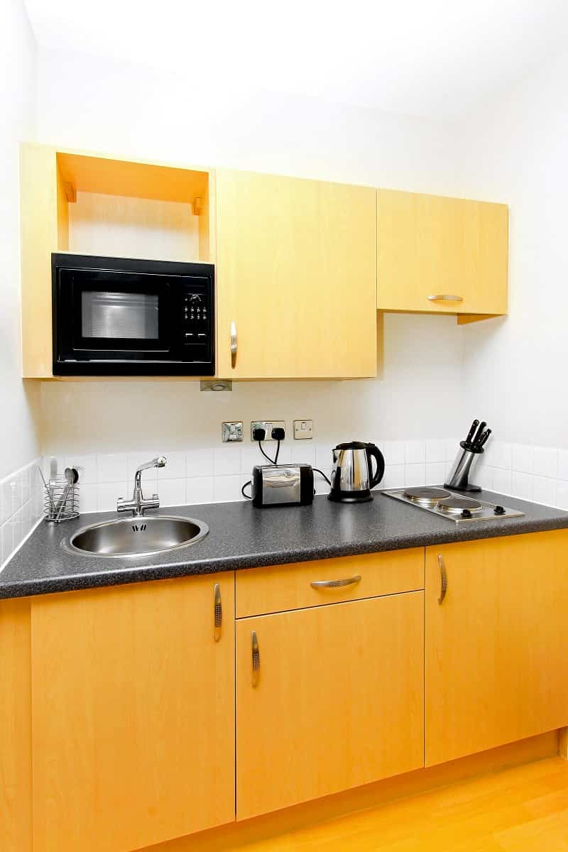 Cocinas pequeñas en espacios reducidos