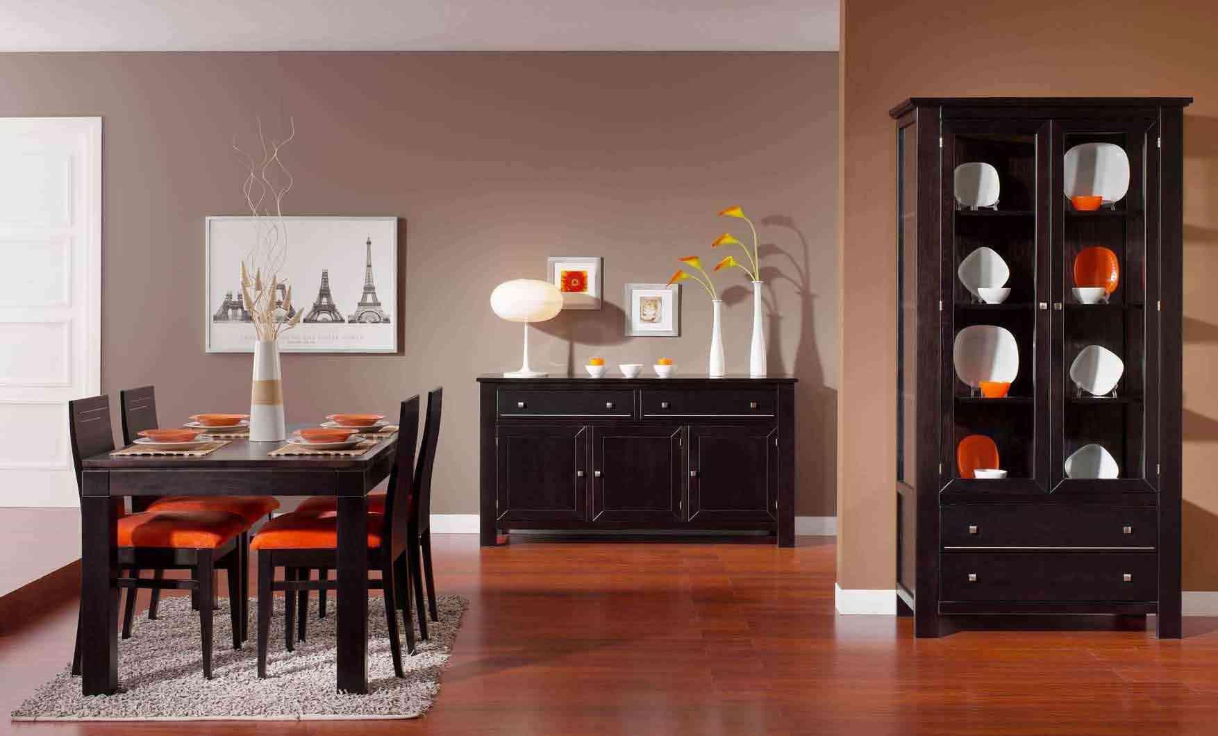 Decorar la sala de comedor y su mobiliario for Decoracion para sala comedor pequenos