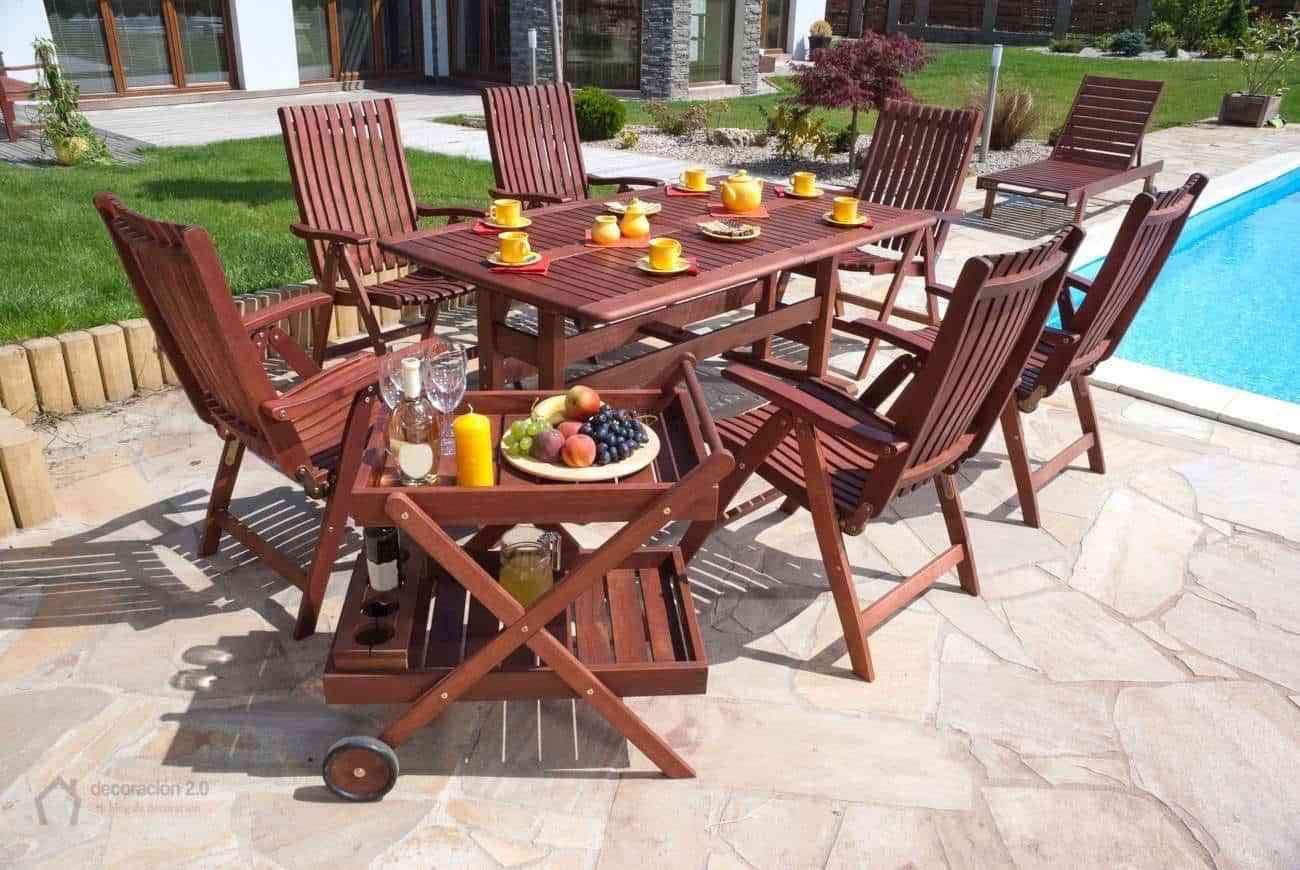 Ideas para decorar con el mobiliario en los jardines