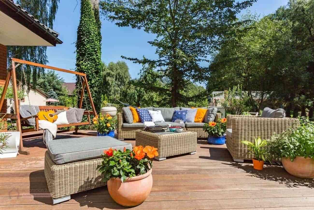 El mueble jardines free terrazas y jardines para for El mueble terrazas