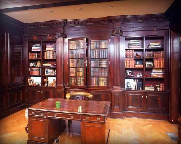 El mobiliario de escritorios - Muebles escritorio clásico
