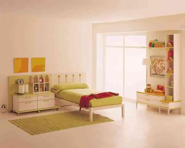Los muebles en dormitorios juveniles - Muebles habitación juvenil