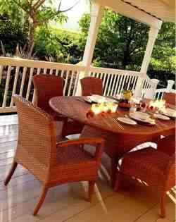 El mobiliario en los jardines - Muebles jardin mesas y sillas