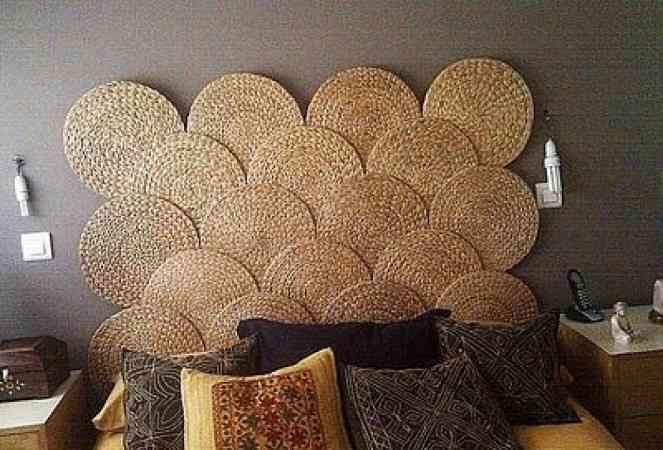 Ideas para tu cabecero de cama reciclado - Cabeceros originales hechos a mano ...