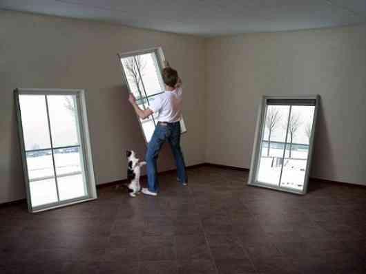 ideas de ventanas simuladas
