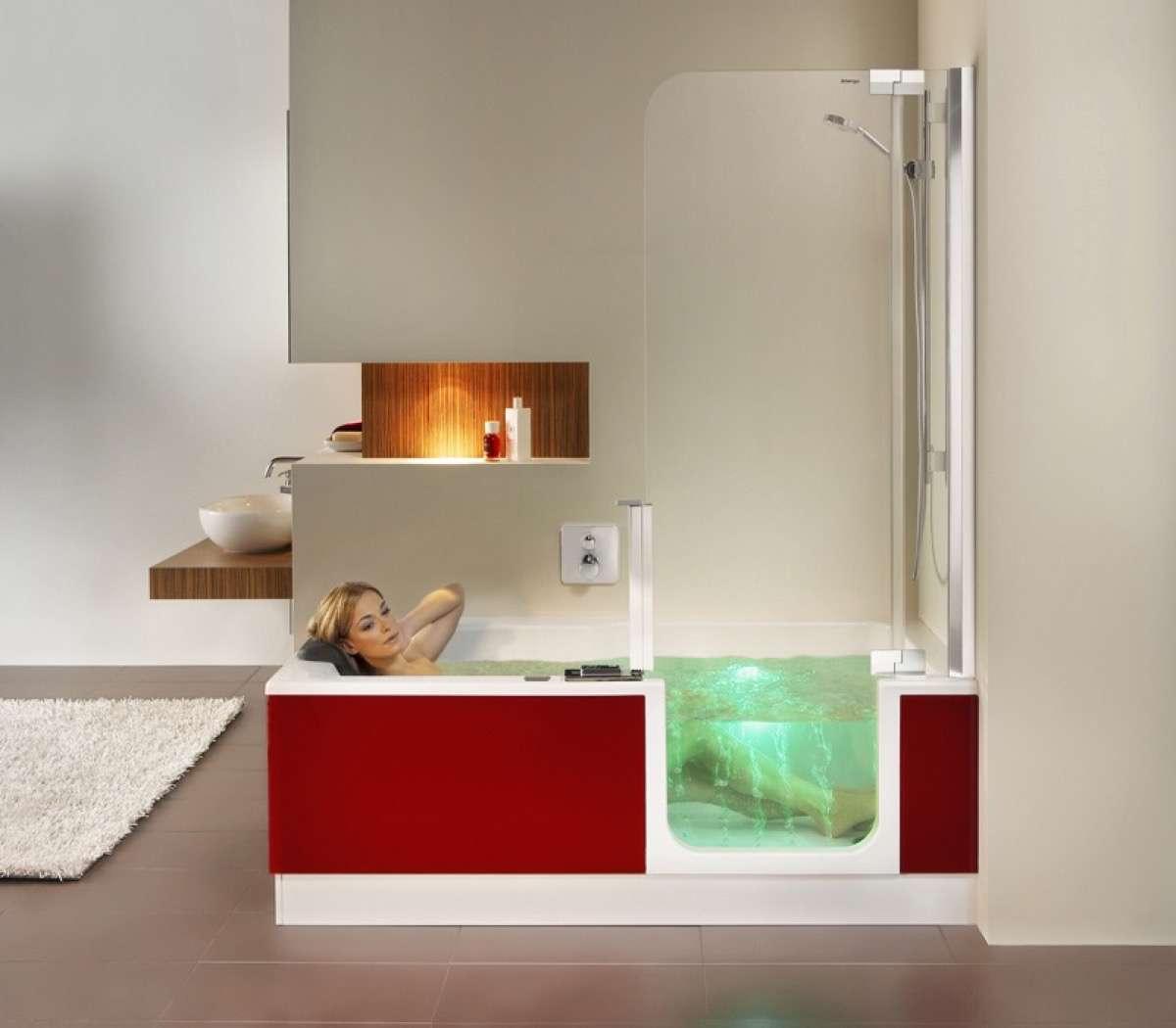 bañera con ducha