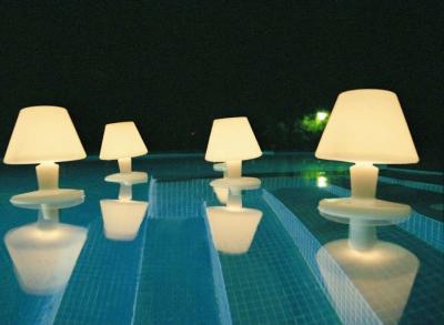 lamparas de agua