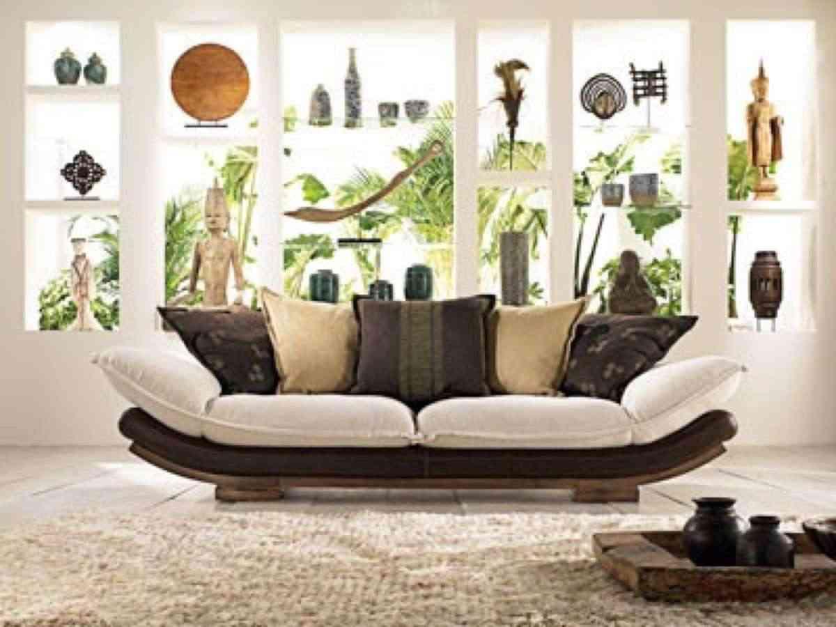 sofá junco La Maison Coloniale