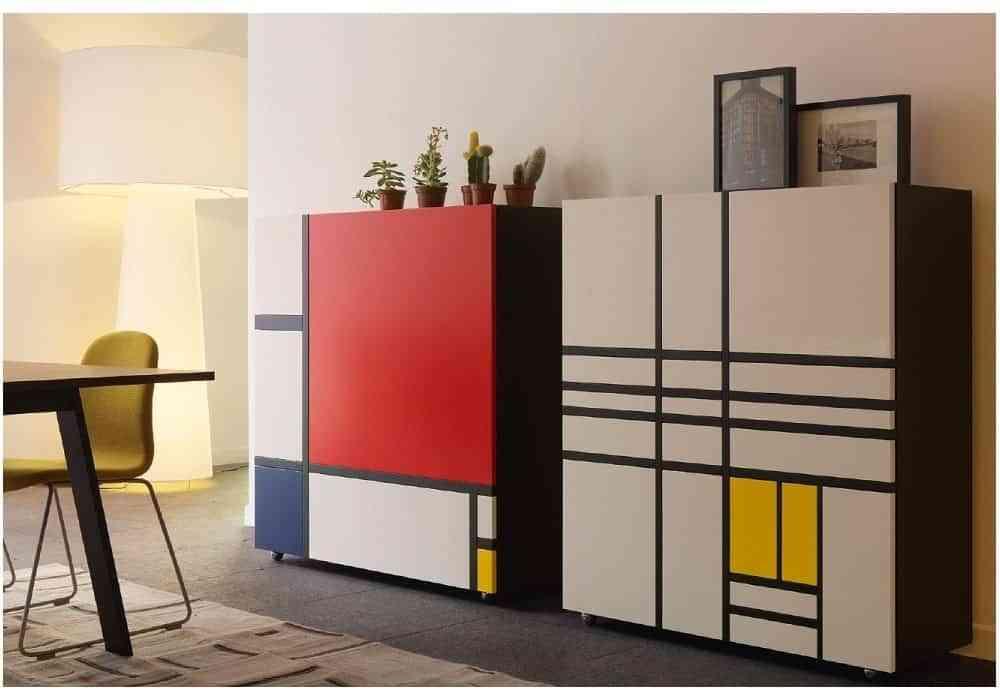armarios Piet Mondrian