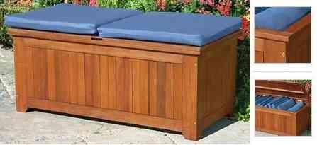 banco exterior madera