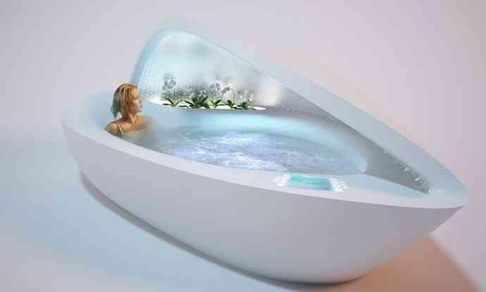 bañera concha