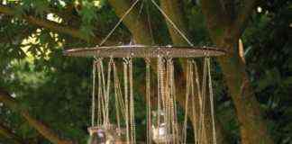 candelabro de cristal para velas