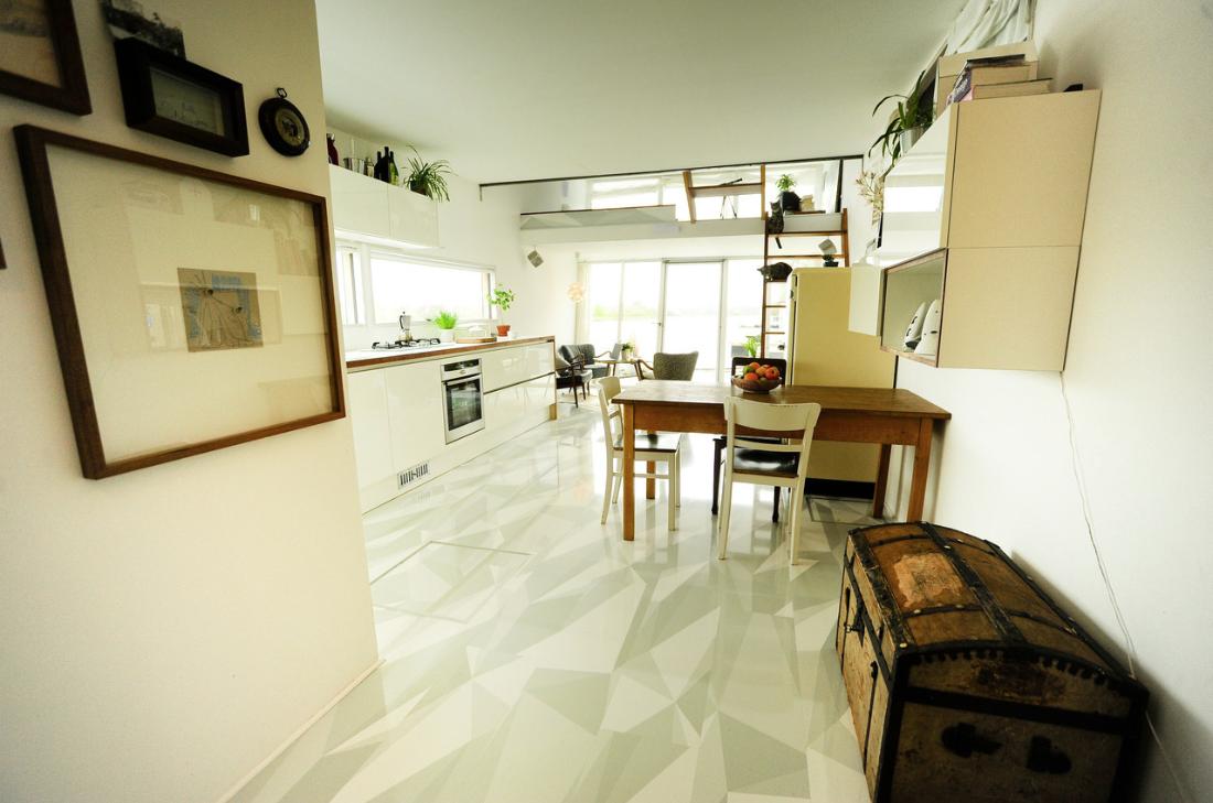 decoracion de interiores - casa flotante 2