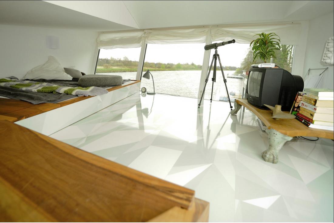 decoracion de interiores - casa flotante 5