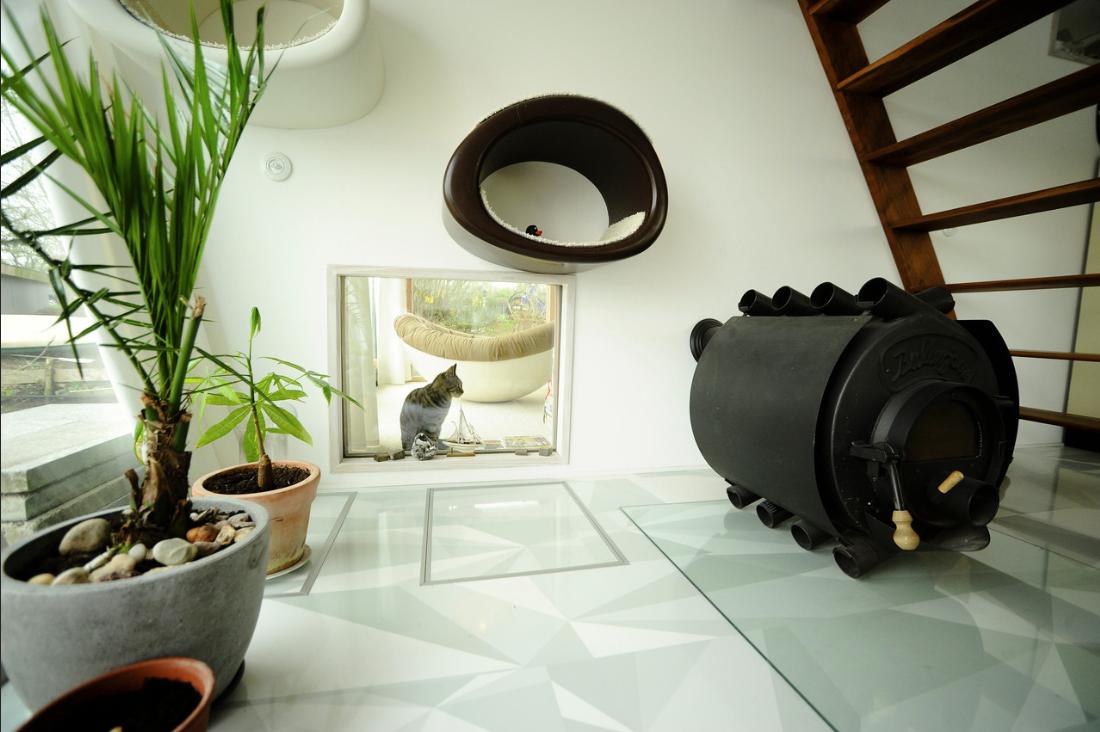 decoracion de interiores - casa flotante 6