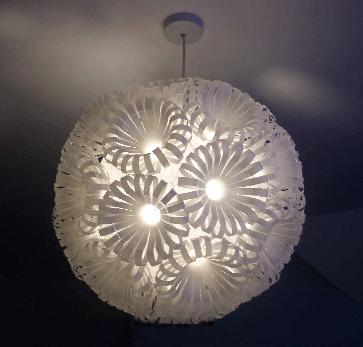 lampara de plastico 2