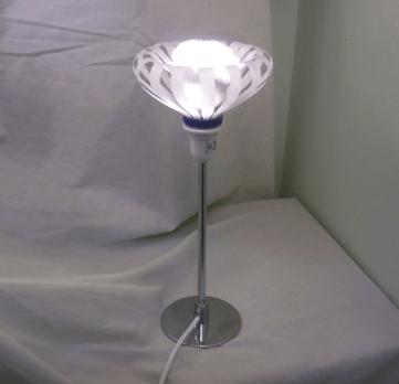 lampara de plastico