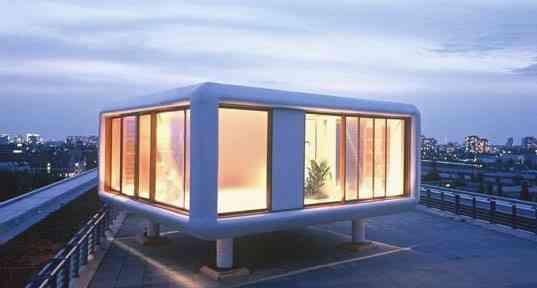 LoftCube, para vivir en una azotea