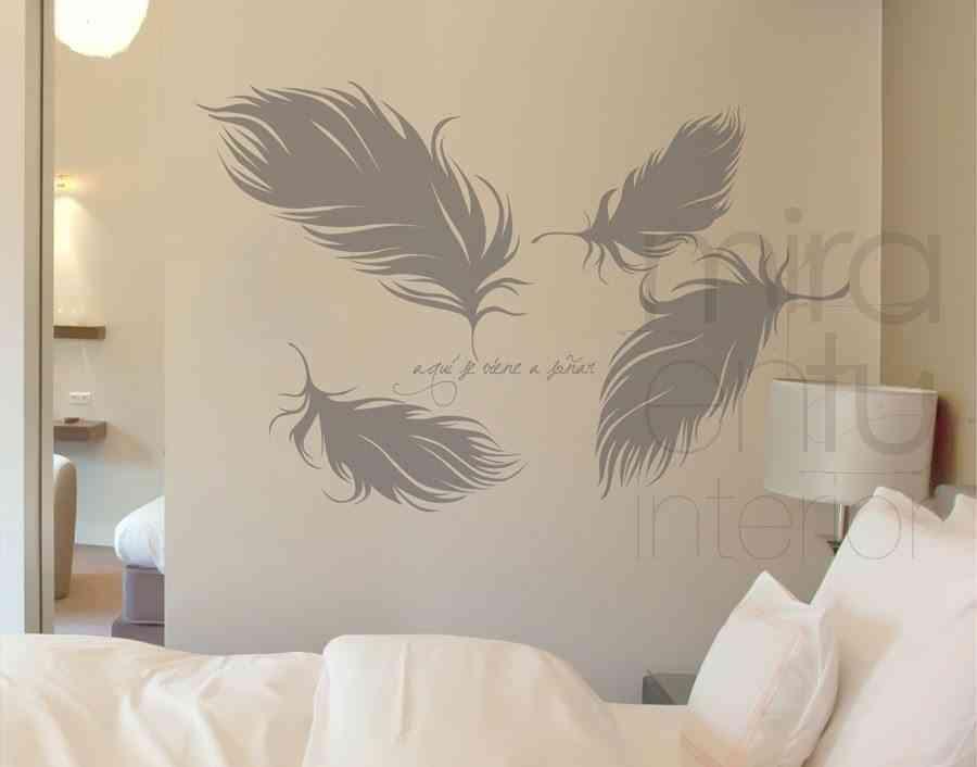 vinilo de plumas - mira en tu interior