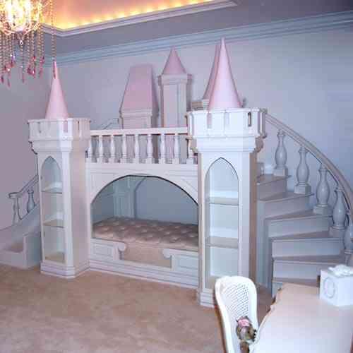 cama castillo princesa -