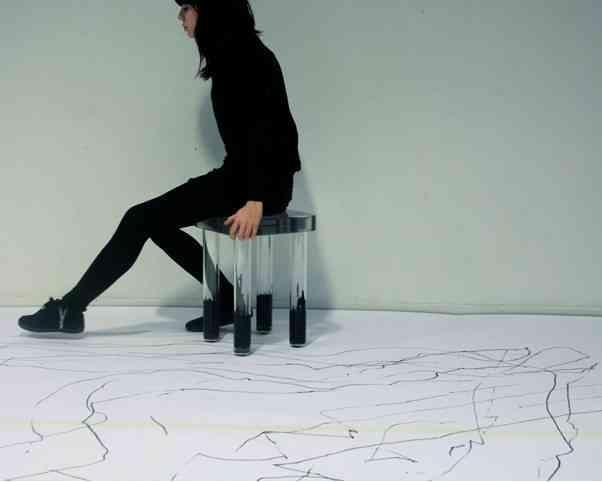 dibujar con las sillas