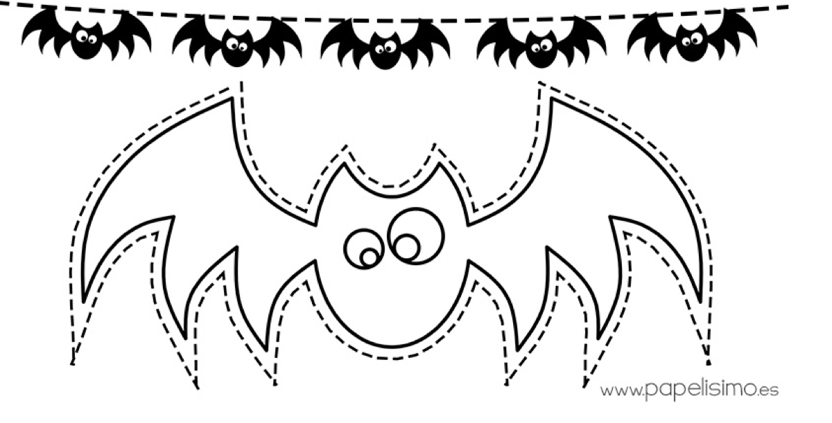 make bats for halloween
