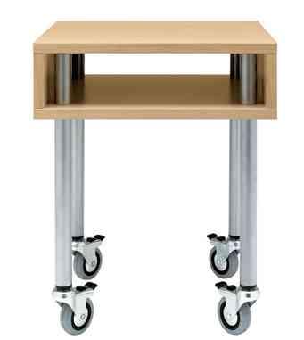 mesas con ruedas