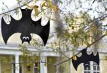 hacer murciélagos para halloween