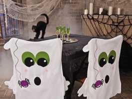 Sillas fantasmales Halloween