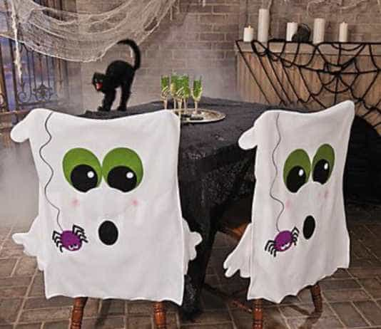 Ghostly chairs Halloween