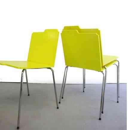 Siéntate y archívate con estas sillas de diseño