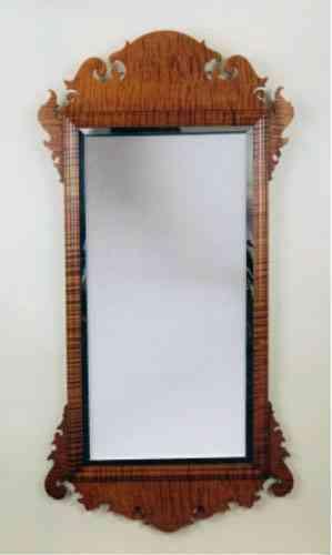Un espejo de cuerpo entero puede ser vintage for Espejo pared cuerpo entero