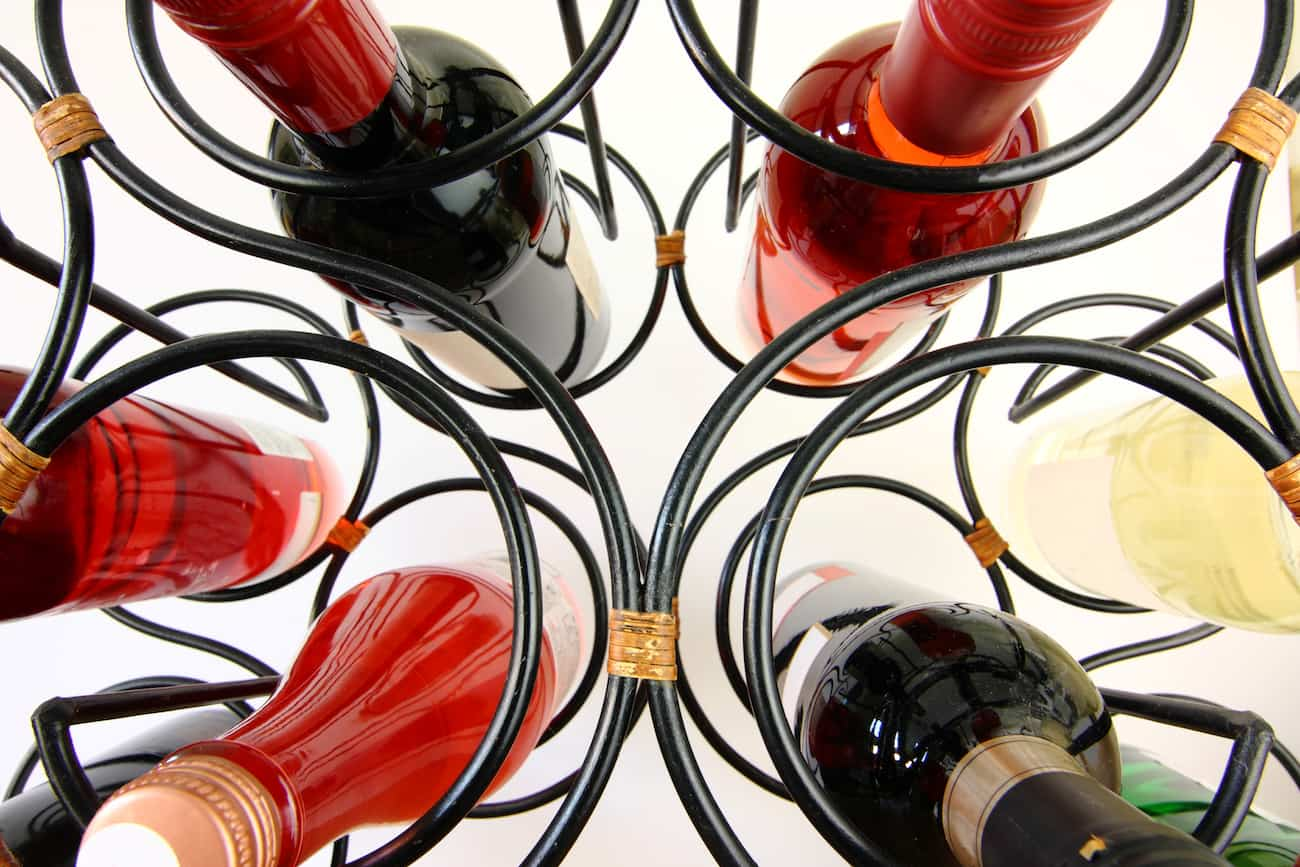 botellero de vino original