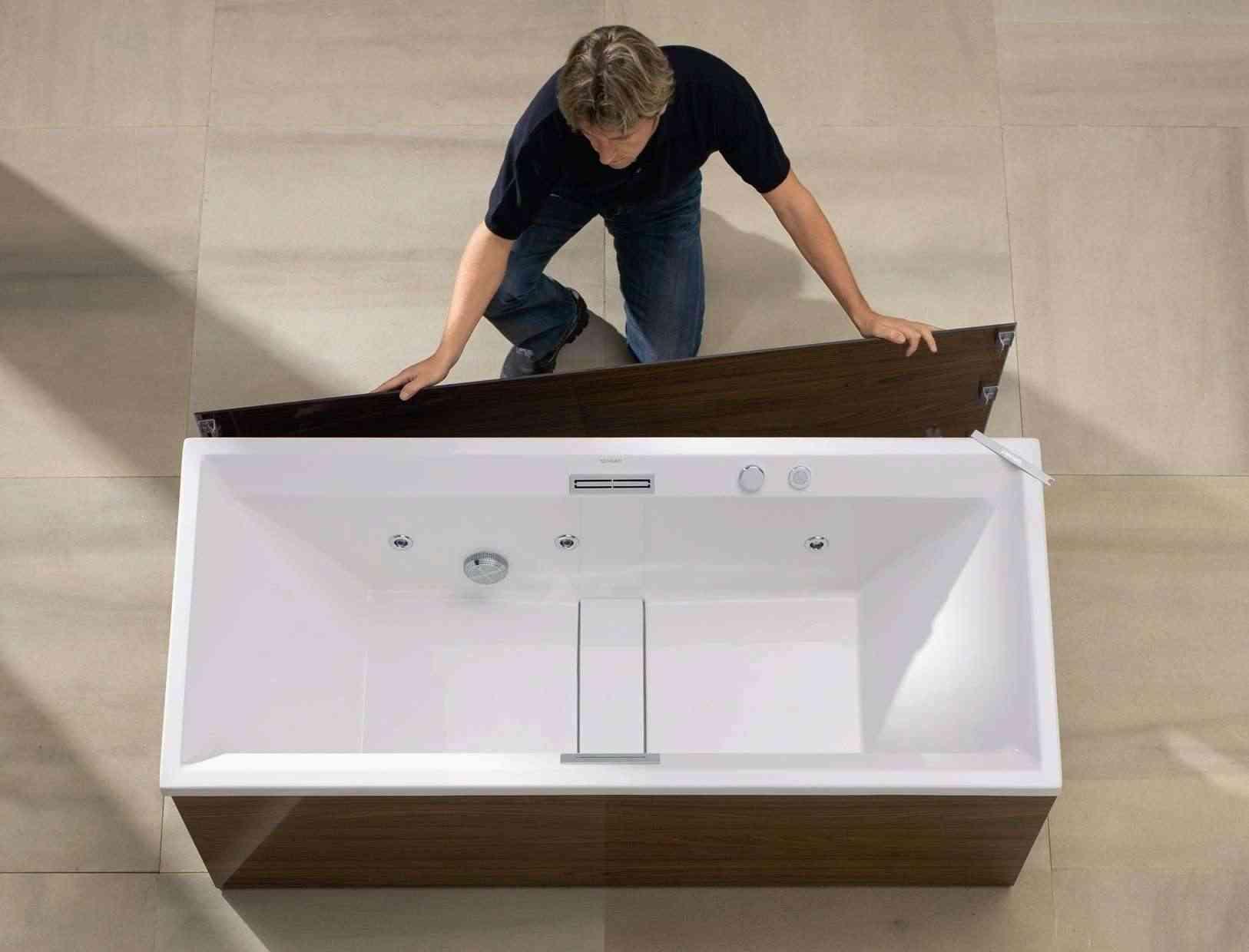 Montando lateral de bañera easyclick