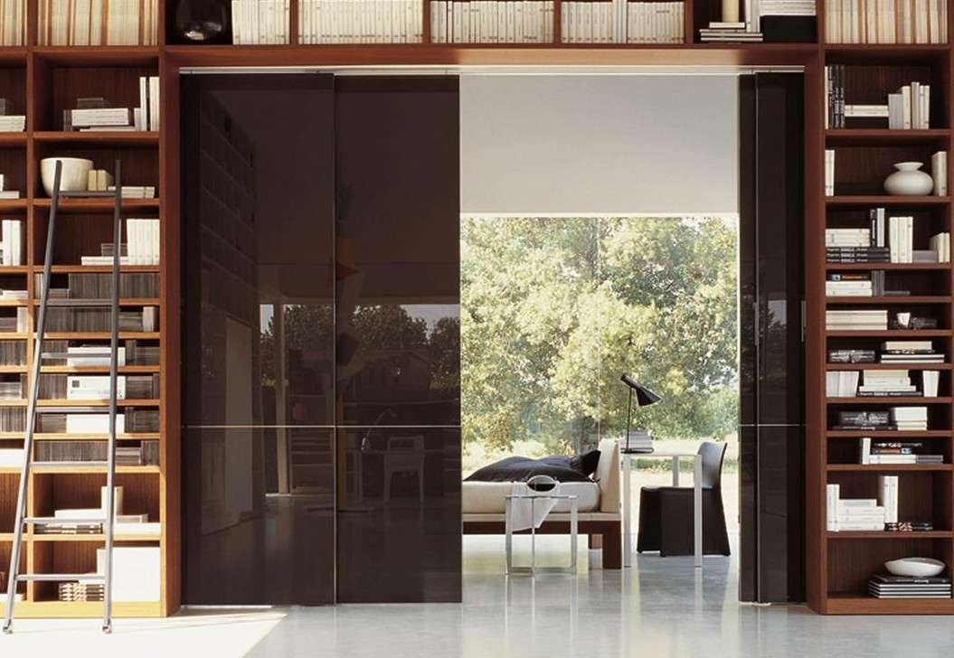 Glide puertas correderas que separan espacios - Separar cocina de salon ...