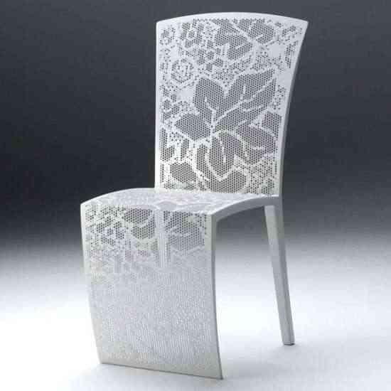 silla de encaje sin hilo