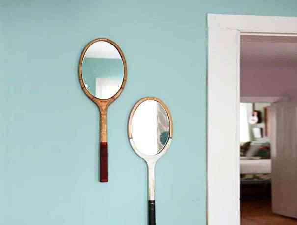 espejos en raquetas