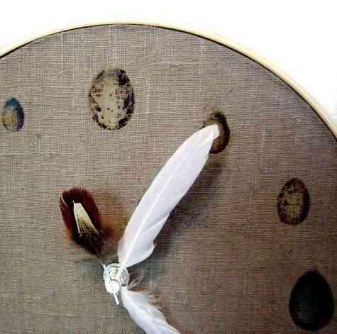 Manualidades: un reloj ornitológico