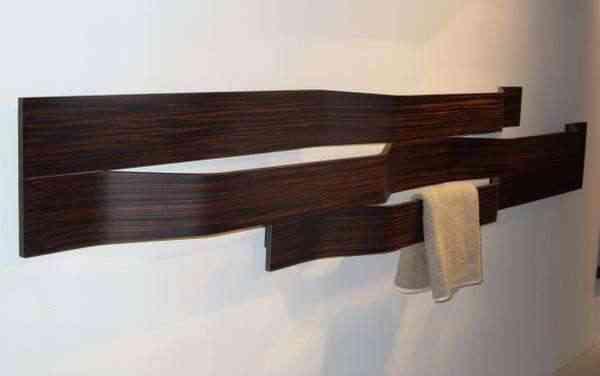 tendencias: elementos de madera en el baño - Muebles Toalleros Para Banos