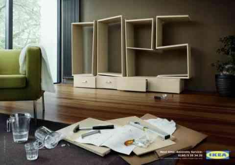 Ikea, opps, no lo montes tu mismo