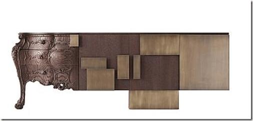 Mueble clásico y moderno a la vez