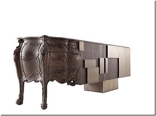 Lateral Mueble clásico y moderno a la vez