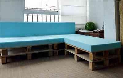 sofa palets3 Un sofá hecho de palets