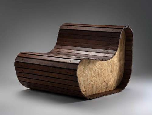 Decoracion De Baño Con Material Reciclado:Cool Chairs Made From Woods
