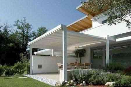 Pergolas diseo estructuras de madera para pergolas buscar - Pergolas de aluminio para jardin ...