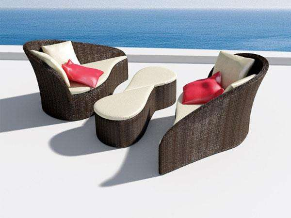 los muebles para el jardn es algo que se debe elegir con cautela tenemos que pensar en las dimensiones que tiene el mismo y el estilo en el que nos