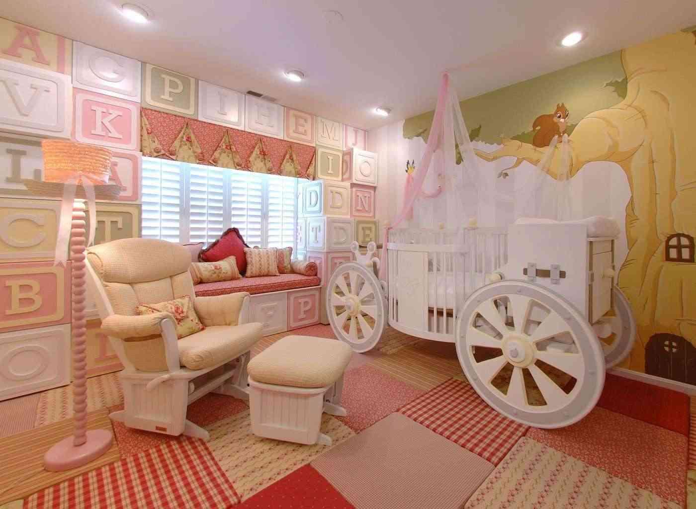 habitación de bebe decorada