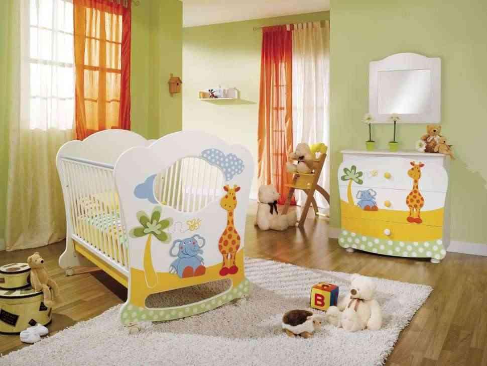 habitación infantil al selva